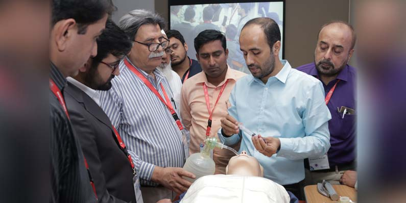 Practice 360º – Training 108 junior doctors from across Pakistan
